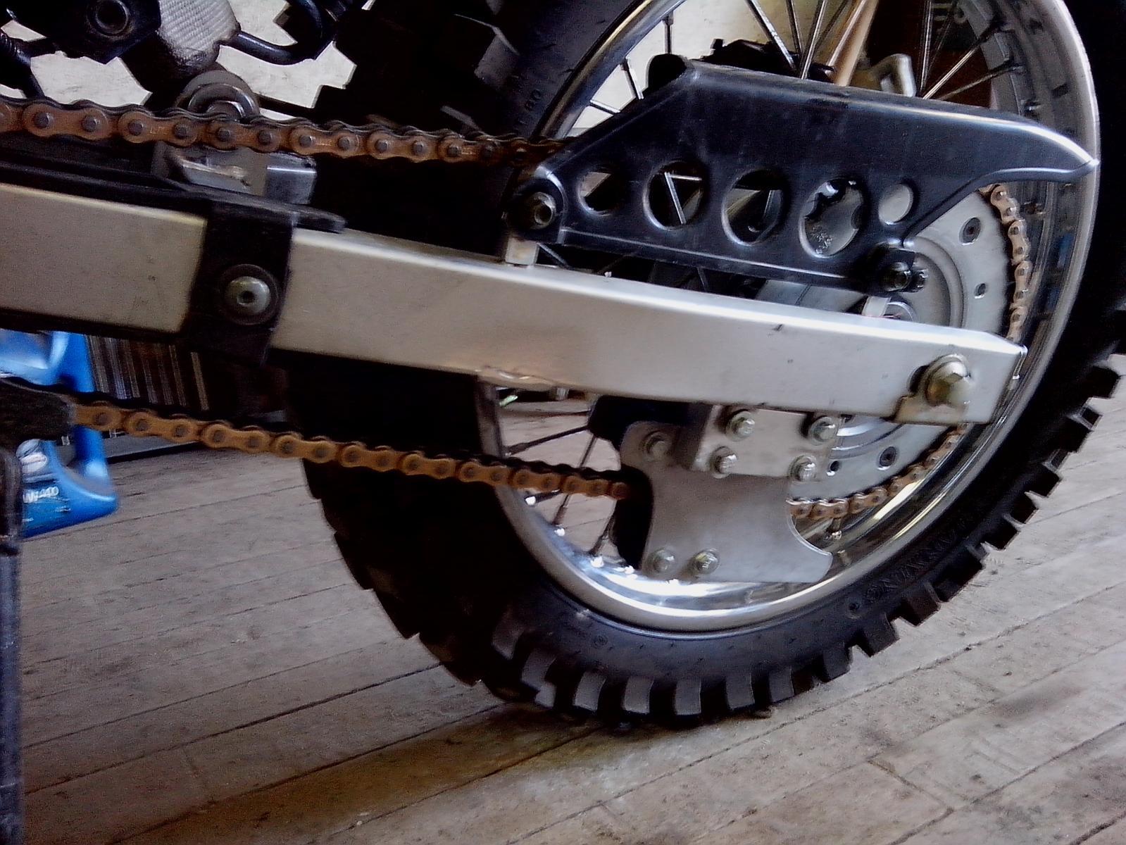Как сделать натяжитель цепи на квадроцикл