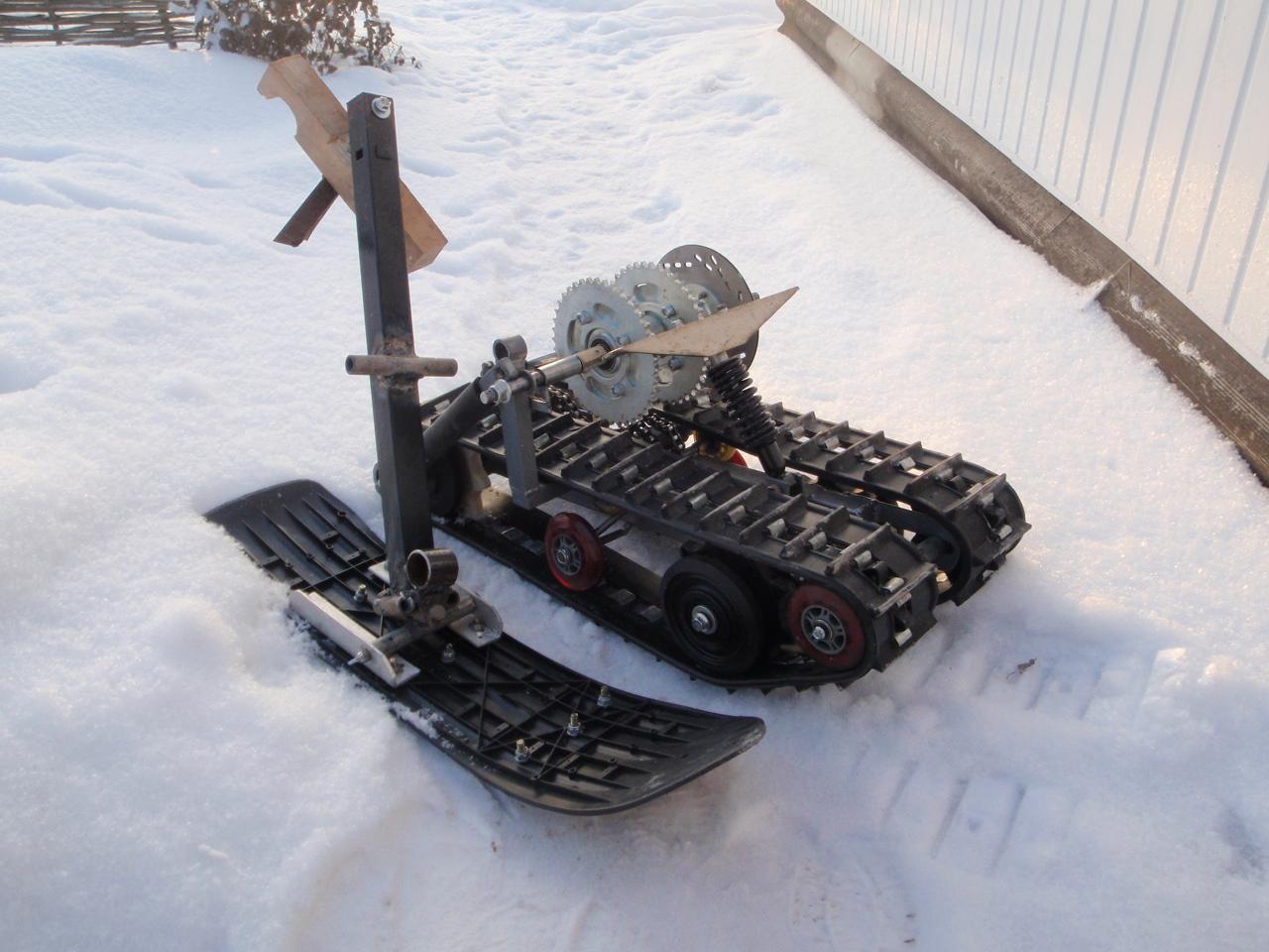 Как сделать гусеницы для снегохода Гусеница для снегохода своими 3
