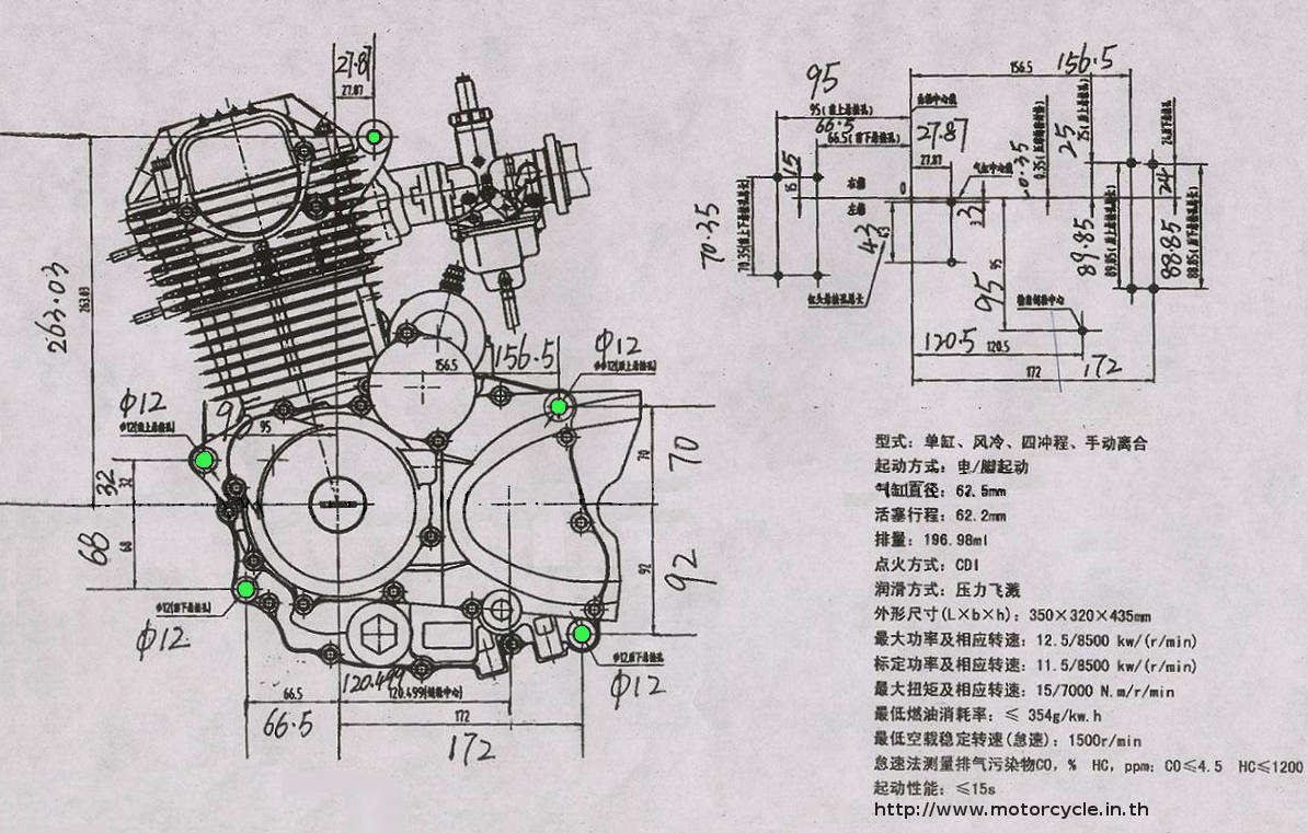 zongshen 125cc engine breakdown