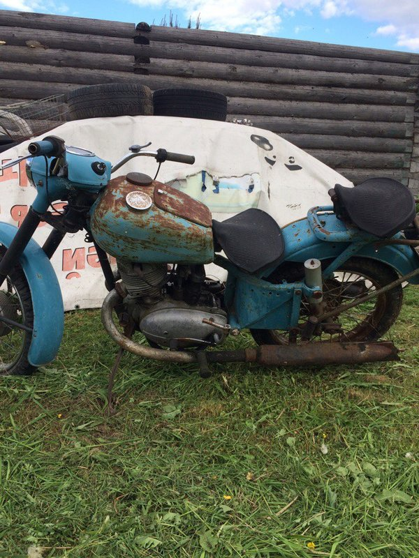 57 фото года мотоцикл иж 54